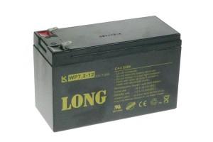 Baterie Long WP7.2-12 (12V/7Ah - Faston 250)