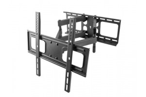 Natec TV wall mount/bracket (26''-55'') tilt&swivel, 50kg, VESA max 400x400