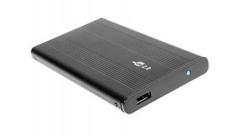 Tracer 722-2 AL externý box pre HDD 2.5'' ATA (max 750GB), USB 2.0, hliníkový (4World)