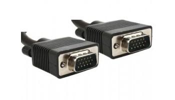 Gembird VGA HD kábel 10m CC-PPVGA-10M-B