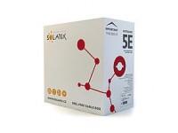 Kábel Solarix CAT5 FTP LSOH drôt 305m (predaj na metre)
