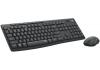 Logitech Silent Wireless Combo MK295, bezdrátová klávesnice + myš, 2.4 GHz, CZ/SK, Graphite
