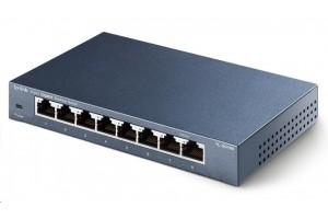 TP-Link TL-SG108 [8portový stolní switch 10/100/1000 Mbit/s]